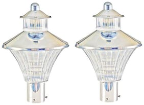 Somil Attractive & Stylish Designer Long Life Gate Light (Set Of Two )CX12