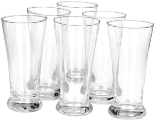 Somil Beverage Tumbler Multipurpose Drinking Glass Set;Transparent;B23
