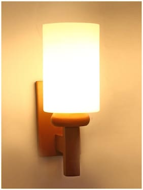 Somil Designer Glass Wall Lamp (Colorful;Hand Decorative) WH16