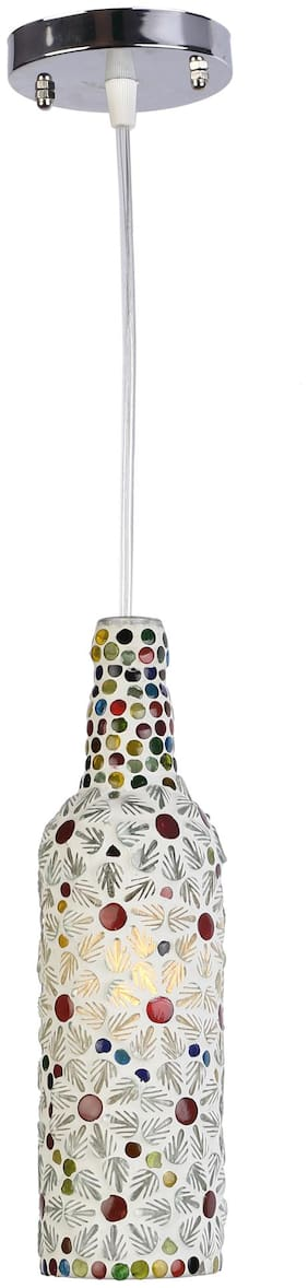 Somil Designer Pendent Hanging Bottle Ceiling Lamp Light With Hand Decorative & High Quality Fitting
