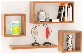 Somil Designer Decorative Useful Square Wall Shelf-WS45