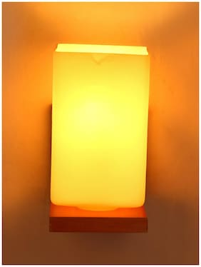 Somil Designer Glass Wall Lamp (Colorful;Hand Decorative) WH1