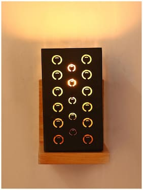 Somil Designer Wooden Wall Lamp AA3