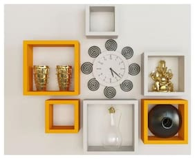 Somil Designer Decorative Useful Square Wall Shelf-WS24