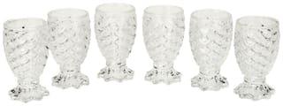 Somil Dimaond Cut Designer Royal Shape Short Glass