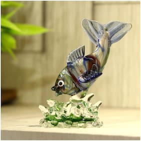 Somil Glass Showpieces ( Set of 1 )