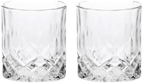 Somil Multi-Purpose Beaver Tumbler Drinking Glass Set for Home Use (Set Of 2) -GG34