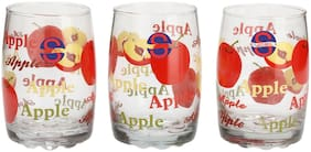 Somil Multi Purpose Transparent With Colorful Design Drinking Glasses