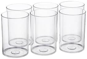 Somil Multi Purpose Beverage Tumbler Drinking Glass Set For Home & Bar Use ( Set Of 6) DR 08