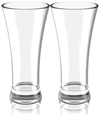 Somil Multi-Purpose Beaver Tumbler Drinking Glass Set for Home Use (Set Of 2) -GG19
