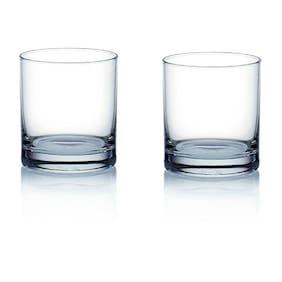 Somil Multi-Purpose Beaver Tumbler Drinking Glass Set for Home Use (Set Of 2)
