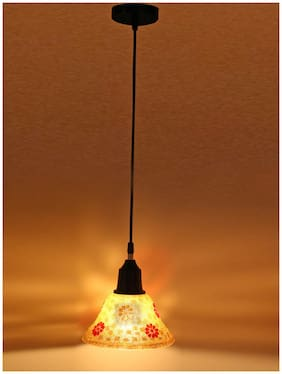 Somil New Launch Wooden Designer Pendant Hanging Ceiling Lamp Decorated With Engraving Shapes For Increase Sparkling Of Light AB8