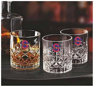 Somil New Stylish Transparent Drinking Glass (Set Of 3);Clear;240ml