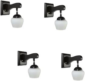 Somil Pendant Decorative LED Wall Lamp/ Light;White;Set Of 4