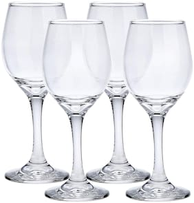 Somil Royal Clear Wine/ Juice Glass;120ml;Four pcs