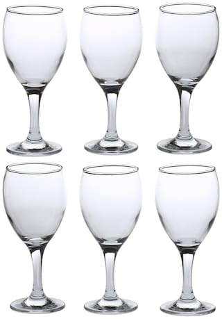 Somil Royal Look Stylish Wine Glass Set Of 6