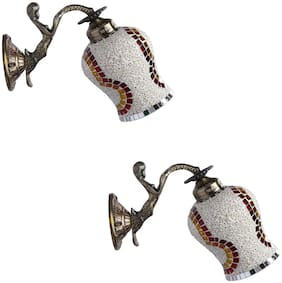 Somil Sconce Wall Lamp Light With Fairy Fitting And Decorated Colorful Shade