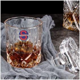 Somil Transparent Stylish Multi Purpose Glass;Clear;Beverage Tumbler