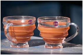 Somil Transparent Tea And Coffee Cup