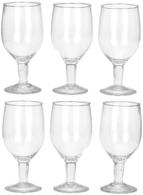 Somil Transparent Royal Wine Glass Set