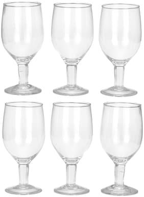 Somil Transparent Royal Wine Glass Set