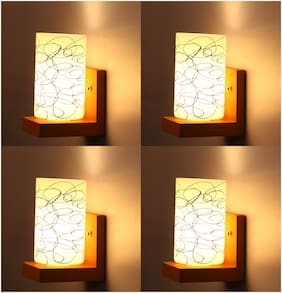 Somil Wallchiere Wall Lamp Wall Light With Decorative Colorful Shade And Stylish Fitting