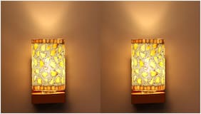 Somil WallChiere Wall Lamp With Decorative Colorful Shade & Stylish Fitting