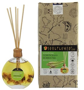 Soulflower Surround Reed Diffuser - Lemongrass