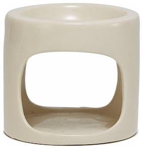 Soulflower Ceramic White Oil burner
