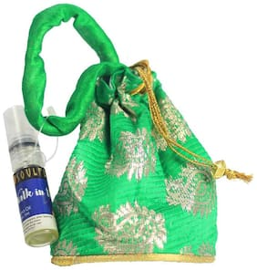 Soulflower Walk In The Wood Aroma Pouch With Bottle