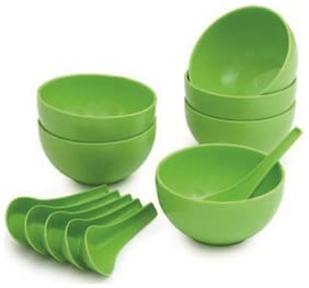 Soup Bowl Set of 6(6 Spoon & 6 Bowl)