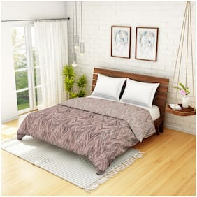 Spaces Earthy Tones Mauve 1 Double Dohar