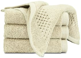 SPACES Swift Dry Pearl Face Towel (Set of 4)