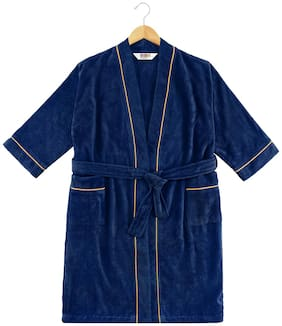 Spaces Exotica Blue Small 1 Bath Robe