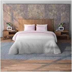 Spaces Cotton Geometric King Size Bedding Set