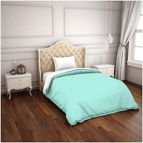 Spaces Hygro Turquoise Solid 1 Comforter