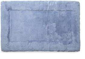 Spaces Hygro Blue Large 1 Bath Mat