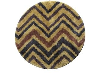 Spaces Intensity Multi Colour Round 1 Rug Circle