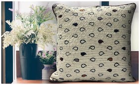 SPACES Spun Cream 1 Cushion Cover
