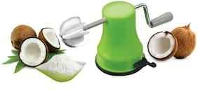 SPEACK COCONUT CRUSHER PLASTIC BODY SET ( STAINLESS STEEL HANDLE )