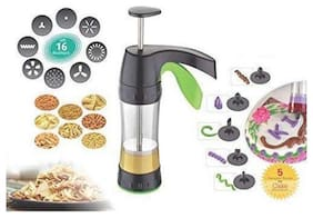 SPEACK  Magic Kitchen Press, Snack And Namkeen Maker, With 16 Attachment