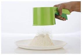 SPEACK Strainer Green Atta Shifter Kitchen Tool Set