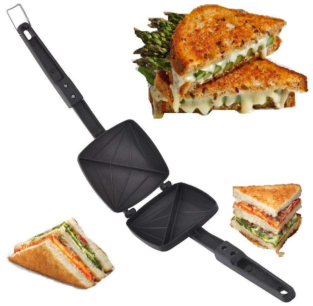Special Gas Toaster Small Sandwich Maker Non Electric And Non Stick Coating