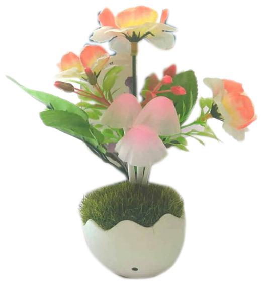 Special Honeymoon Moon Light Bedroom Green Grass Mushroom light automatic sensor with...