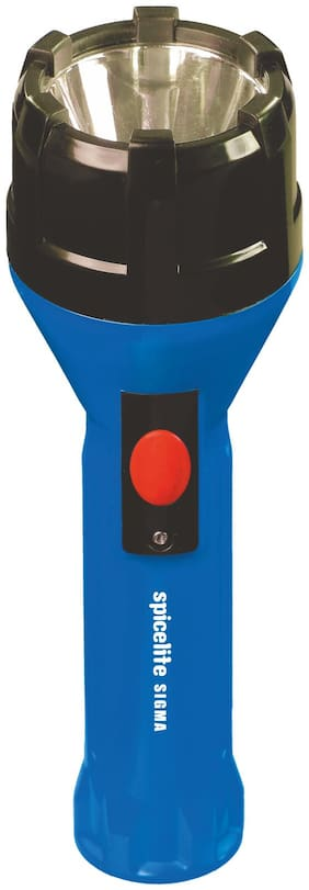 Spicelite SIGMA Made in India 2W LED Rechargeable Torch (Blue)