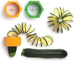 Spiral Cucumber Slicer Vegetable Fruit Salad Cutter - BUY 1 GET 1 FREE I