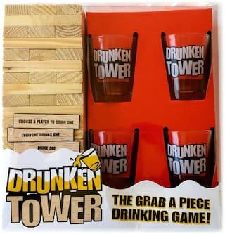 SportingTools Drunken tower drinking game