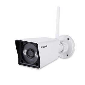 Sricam SP023 Wireless WiFi Waterproof Full HD 1080P Outdoor Security Camera with SD Card Slot