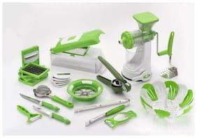 SRK 23Pcs Kitchen Tools Combo Set - Green