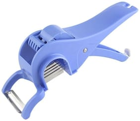 SRK Deluxe Blue Multi Veg Cutter With Peeler